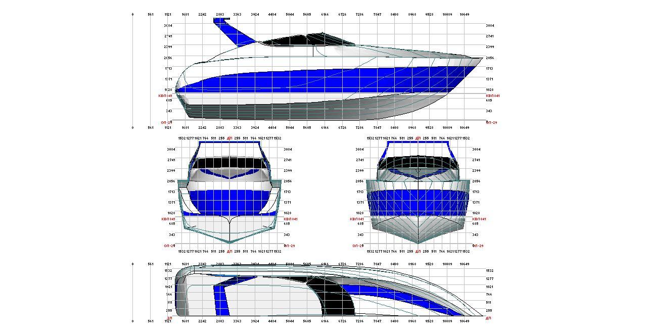 Проект катера для самостоятельной постройке